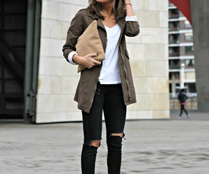 winter, clothes, and moda image