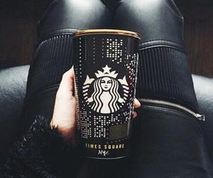 starbucks, black, and coffee image