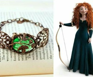 brave, green, and disney image