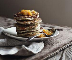 citrus, lemon, and pancake image