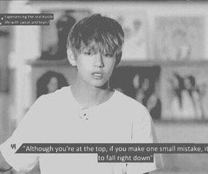 quote, tae, and bts image