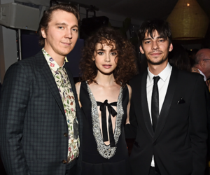 paul dano and lily collins image