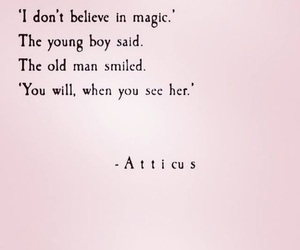 love, quotes, and magic image