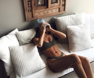 abs, fit, and flat image