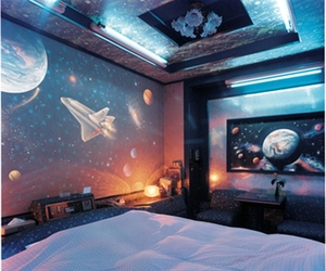 space, bedroom, and design image