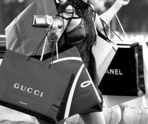 gucci, shopping, and chanel image