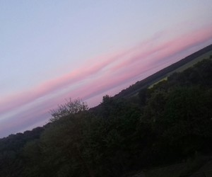 beautifull, pink, and sky image