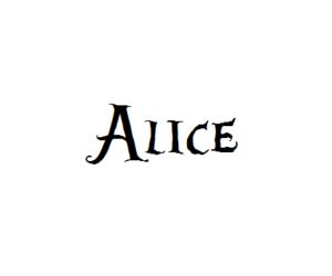 alice, disney, and Dream image