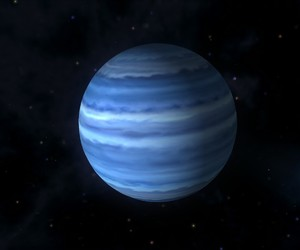 neptune, space, and blue image