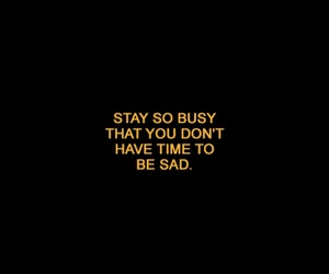 quotes, busy, and life image