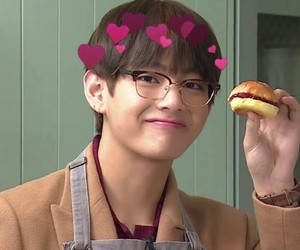 bts, v, and taehyung image