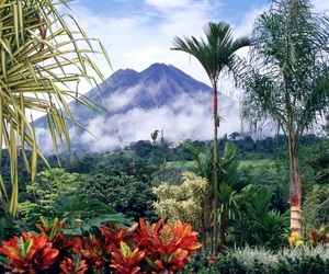 nature, volcano, and costa rica image