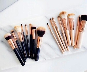 beauty, cosmetic, and brush image