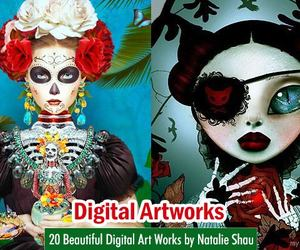 art, digital art, and lithuania artists image