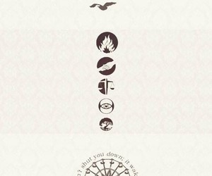 divergent, four, and dauntless image