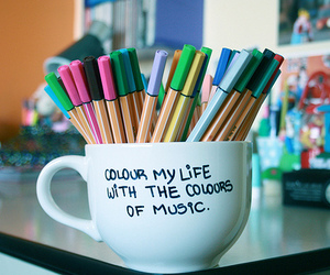 pen, life, and music image