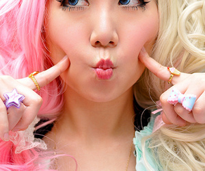 asian, pink, and cute image