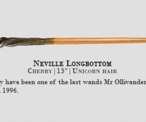 harry potter, neville longbottom, and wand image
