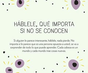 frases, personas, and hablar image