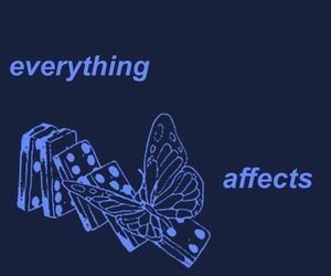 blue, butterfly, and butterfly effect image