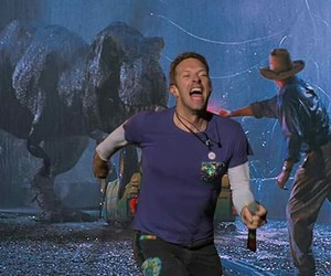 Chris Martin, Jurassic Park, and coldplay image