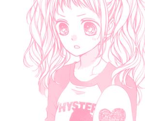 awesome, pink manga, and beautiful image