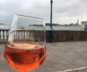 italy, venice, and aperolspritz image