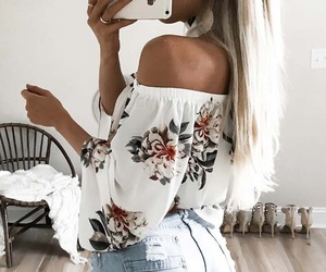 fashion, blouse, and outfits image