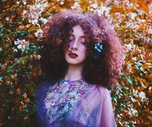 beauty, berry, and curls image