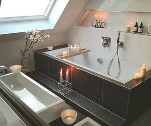 bathroom, cozy, and home image