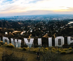 america, hollywood, and landscape image