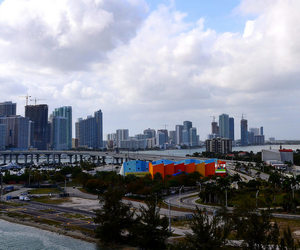 buildings, cityscape, and Miami image