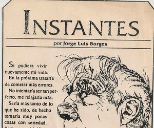 jorge luis borges and instantes image