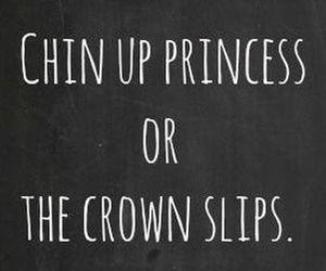 princess, chin up, and life image