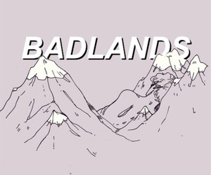badlands, pastel, and tumblr image
