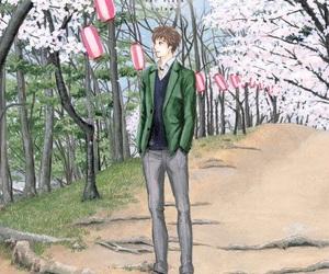 orange, shoujo, and manga boy image