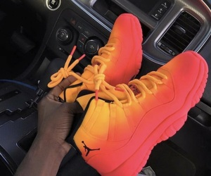 custom, fire, and orange image