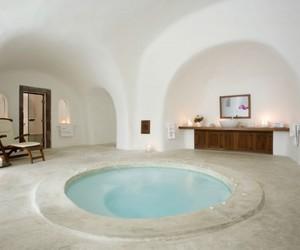 interior, bathroom, and pool image