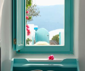 window and blue image