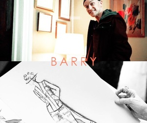 barry, james mcavoy, and split image