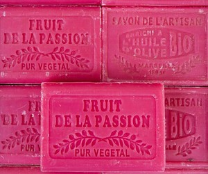 pink and soap image