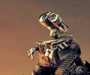 wall-e, disney, and wallpaper image
