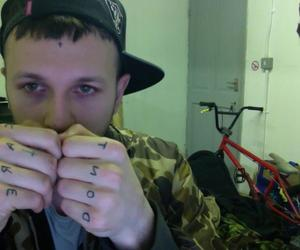 band, crim3s, and tattoo image