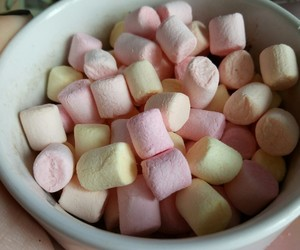 coffee and marshmallows image