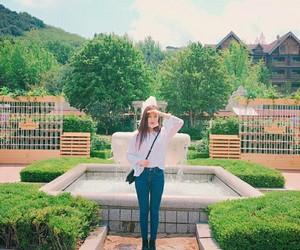 idol, korean, and nature image