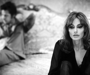 Angelina Jolie, angelina, and by the sea image