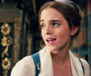 beauty and the beast, beuty, and emma image