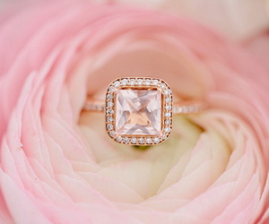 ring, jewelry, and pink image