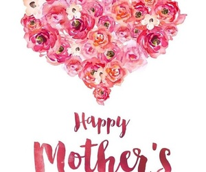 happy, mother's day, and roses image