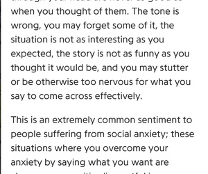 anxiety, awkward, and introvert image